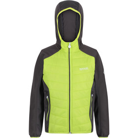 Regatta Kielder Hybrid IV Quilted Jacket Kids, electric lime/magnet/magnet